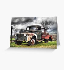 Old Rust Greeting Card