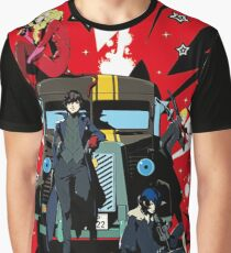 "Persona 5 ""Last Ride"" Graphic T-Shirt"