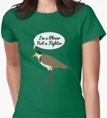 I'm a Plover Not a Fighter Women's Fitted T-Shirt