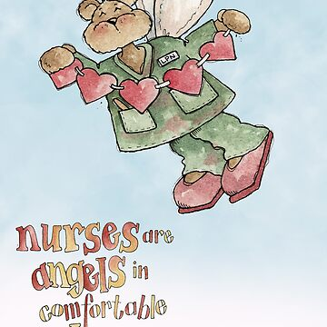 Nurses Are Angels by catsbacknc