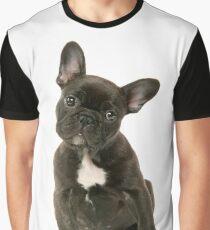 Cute French Bulldog Puppy Graphic T-Shirt