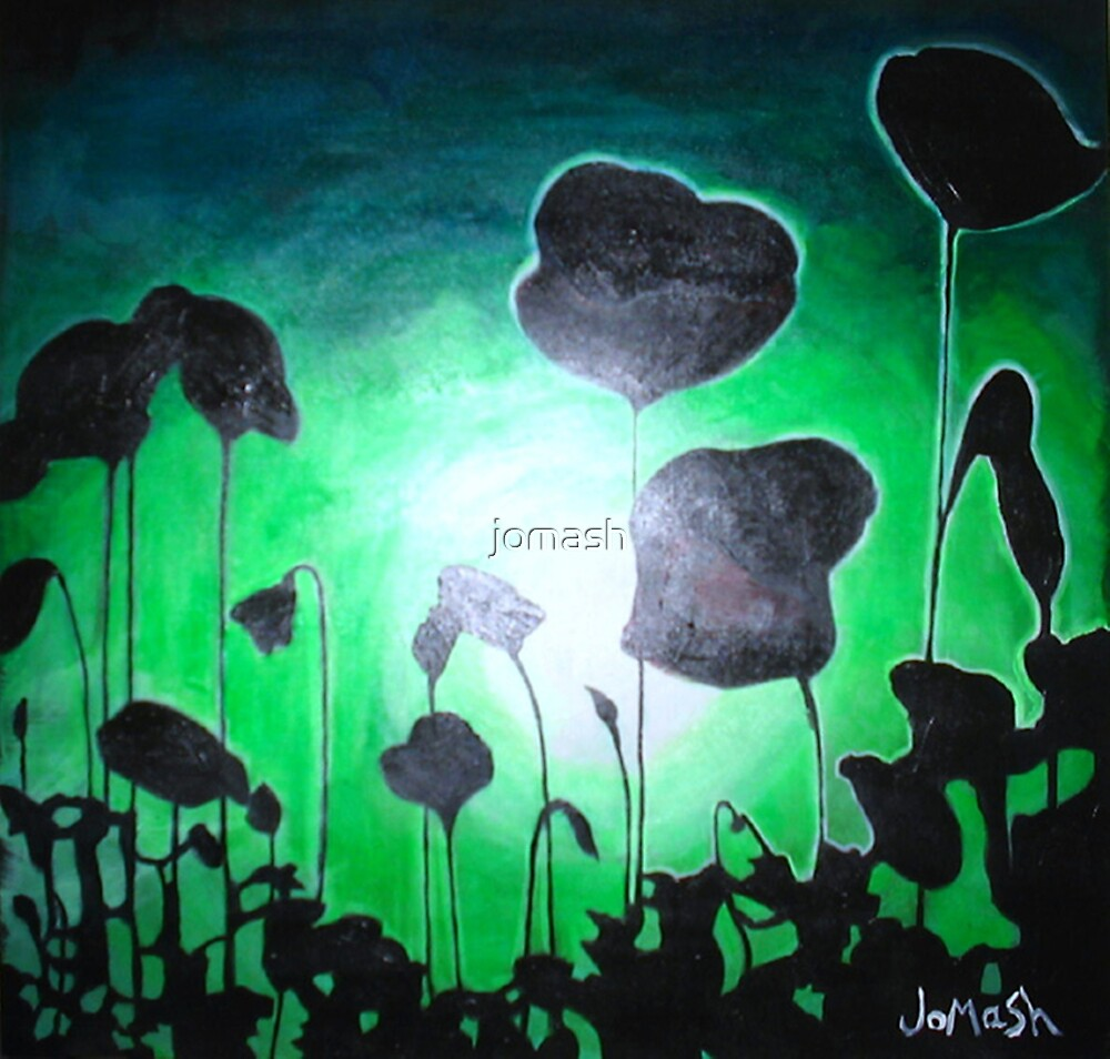 Poppies of Peace by jomash