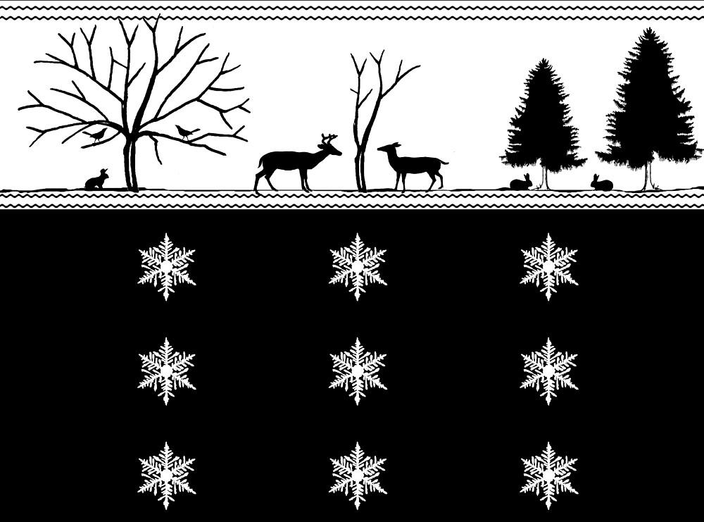 Winter Scenery by DelirusFurittus