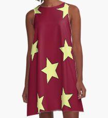 Stars A-Line Dress