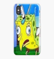 Spongebob Chicken iPhone Case