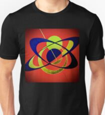 Clockwork Atomic in Red Unisex T-Shirt