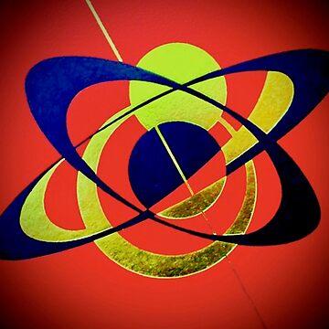 Clockwork Atomic in Red by adammcinerney