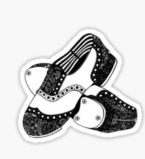 Pegatina Zentangle Tap Shoes