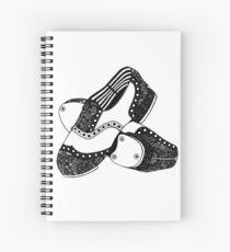Zentangle Tap Schuhe Spiralblock