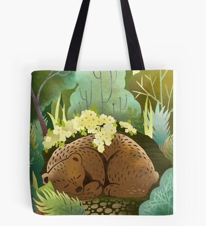Bear Nest Tote Bag