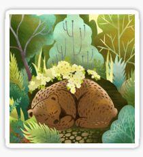 Bear Nest Sticker