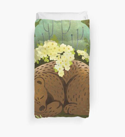 Bear Nest Duvet Cover