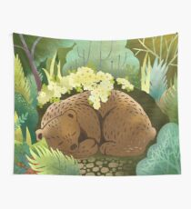 Bear Nest Wall Tapestry
