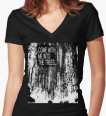 DEPECHE MODE - STRIPPED Women's Fitted V-Neck T-Shirt