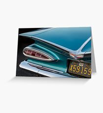 1959 Chevrolet Greeting Card