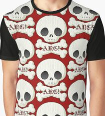 Skull and Cross Bones ARG! Graphic T-Shirt