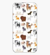 Dog Breeds Pattern iPhone Case