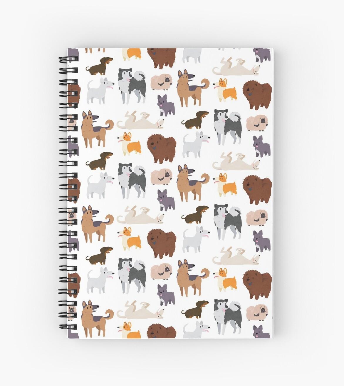 Hunderassen Muster von Claire Stamper