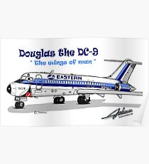 Eastern DC-9 Poster