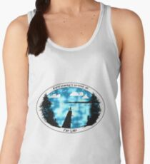Everything's Better at the Lake-Fishing Women's Tank Top