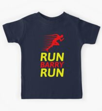 RUN BARRY RUN Kids T-Shirt