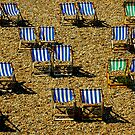 deck chairs,Brighton by jimf66