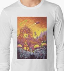 Rick and Morty alien landscape T-Shirt