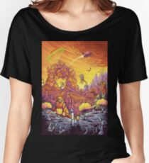 Rick and Morty alien landscape Women's Relaxed Fit T-Shirt