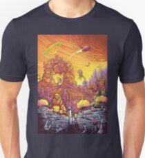 Rick and Morty alien landscape T-Shirt