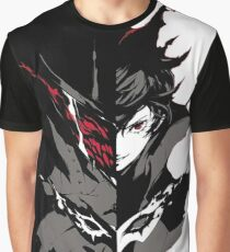Persona 5 the Joker Dark Side Graphic T-Shirt