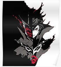 Persona 5 the Joker Dark Side Poster