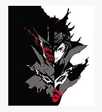 Persona 5 the Joker Dark Side Photographic Print