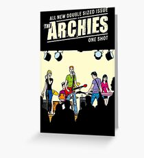 THE ARCHIES Greeting Card