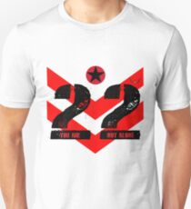 22 You Are Not Alone :: Raising support, awareness and funds for nonprofit organizations offering holistic healing processes to veterans. Unisex T-Shirt
