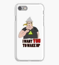 The conspiracy uncle sam iPhone Case/Skin