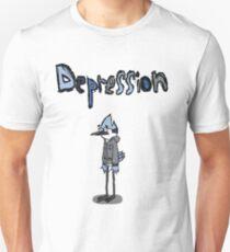 Sad Mordecai  Unisex T-Shirt
