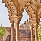 View in Agra Fort by Barbara  Brown