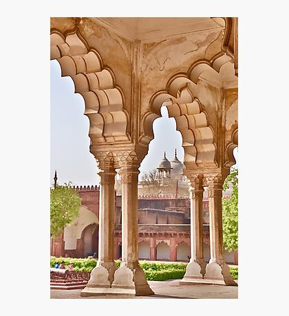View in Agra Fort Photographic Print