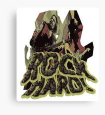 Rock Hard Canvas Print