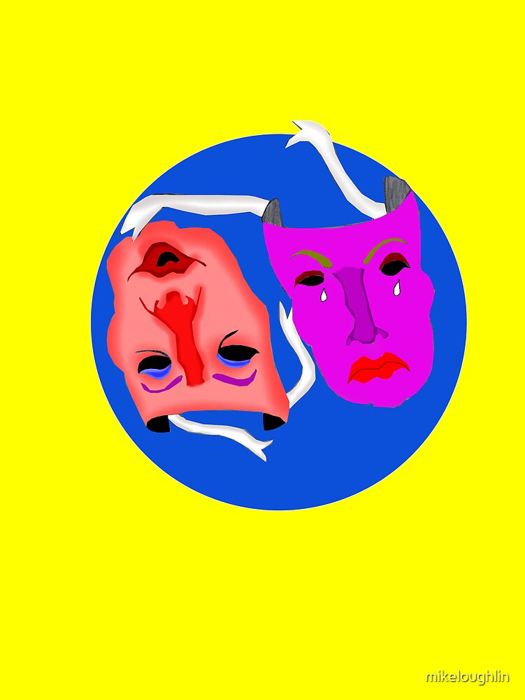Blue moon masks by mikeloughlin