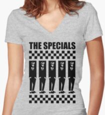 2Tone Era, The Specials Women's Fitted V-Neck T-Shirt