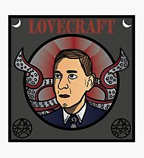 H. P. Lovecraft  Photographic Print