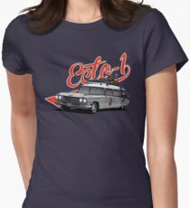 ECTO-1 - GHOSTBUSTERS´S CAR Womens Fitted T-Shirt