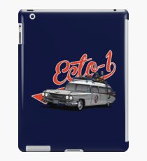 ECTO-1 - GHOSTBUSTERS´S CAR iPad Case/Skin