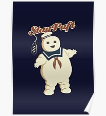STAY PUFT - MARSHMALLOW MAN GHOSTBUSTERS Poster