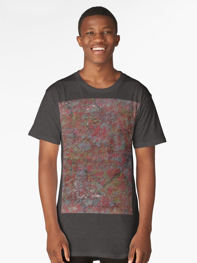 Urban Camo 001 Long T-Shirt Front
