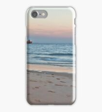 broome jetty sunset storm  iPhone Case/Skin