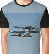 Blue Angels - Double Farvel Formation Graphic T-Shirt