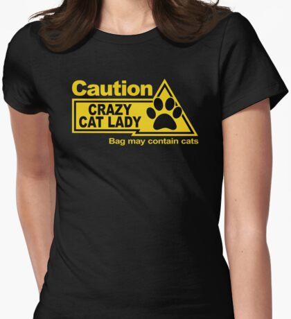 Caution - Crazy Cat Lady - Bag T-Shirt