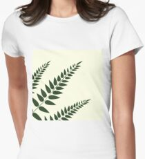 Fern No.1 Womens Fitted T-Shirt